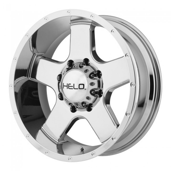 Helo Wheels HE886, PVD Chrome wheel