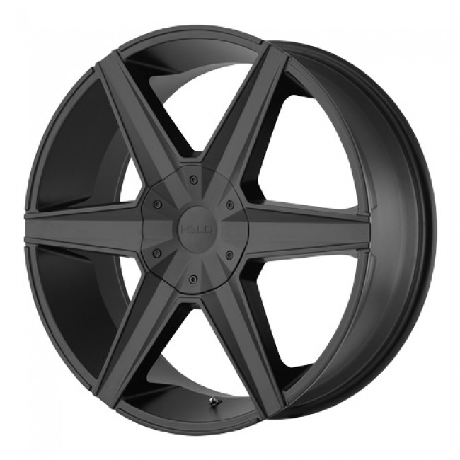 Helo Wheels HE887, Satin Black wheel