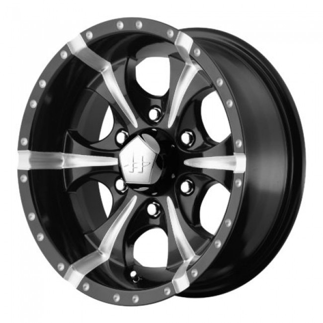 Helo HE791 MAXX, Gloss Black Machine wheel