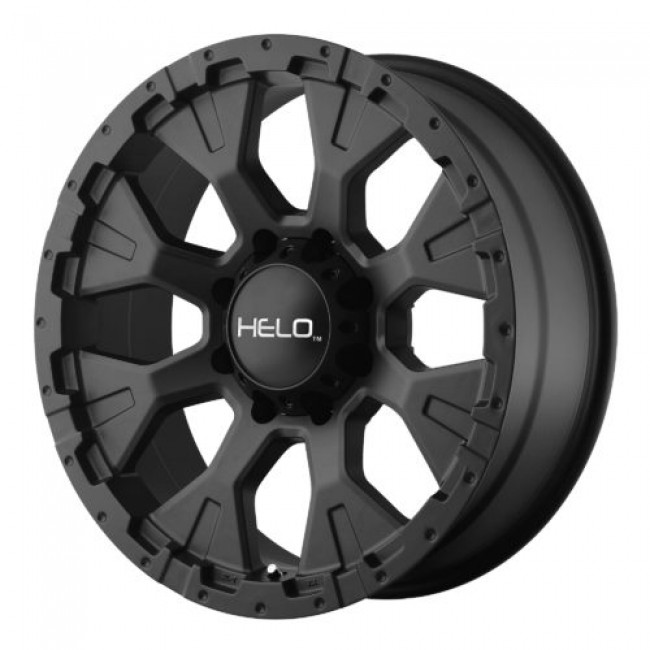 Helo HE878, Satin Black wheel