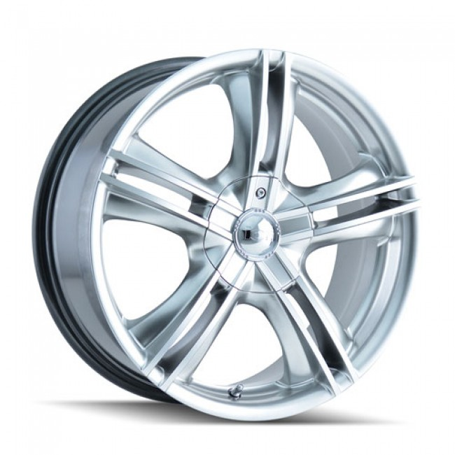 Alloy Ion 161, Machine Hyper Silver wheel