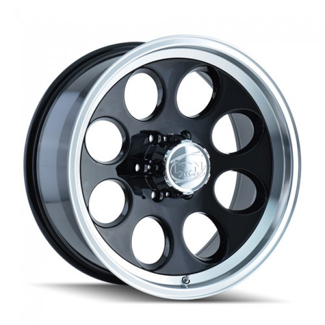 Alloy Ion 171, Black Machine Lip wheel