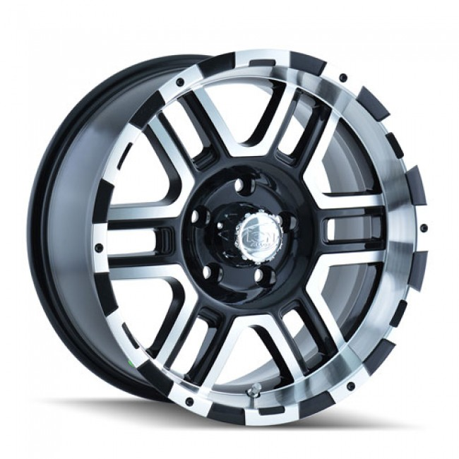 Alloy Ion 179, Machine Black wheel
