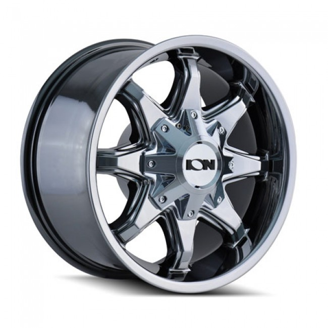 Ion 181 PVD Chrome / Chrome Vaporise, 20X12, 8x180 ,(déport/offset -44 ) 124.1