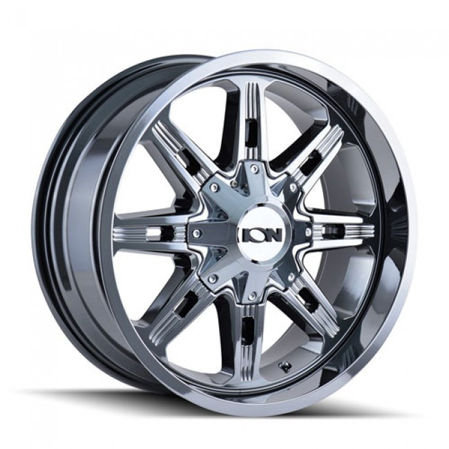 Ion 184 PVD Chrome / Chrome Vaporise, 17X9, 5x127/139.7 ,(déport/offset 18 ) 87