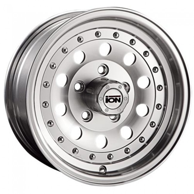 ION Alloy 71, Machine Silver wheel