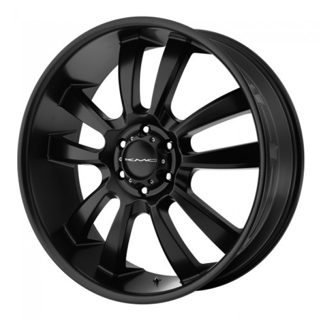 KMC Wheels Skitch, Satin Black wheel