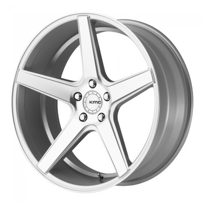 KMC Wheels District, Machine Silver wheel