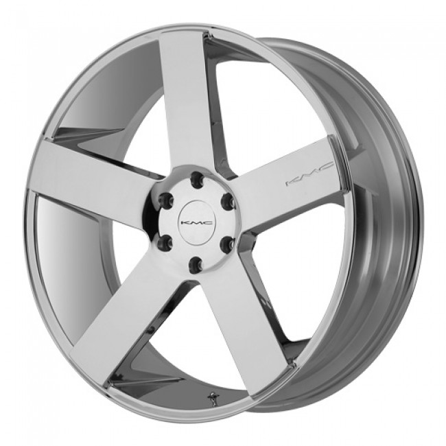 KMC Wheels MC 5, Chrome wheel