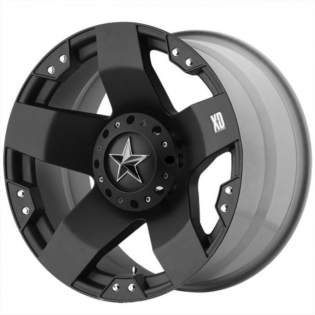 KMC Wheels Rockstar, Matte Black wheel