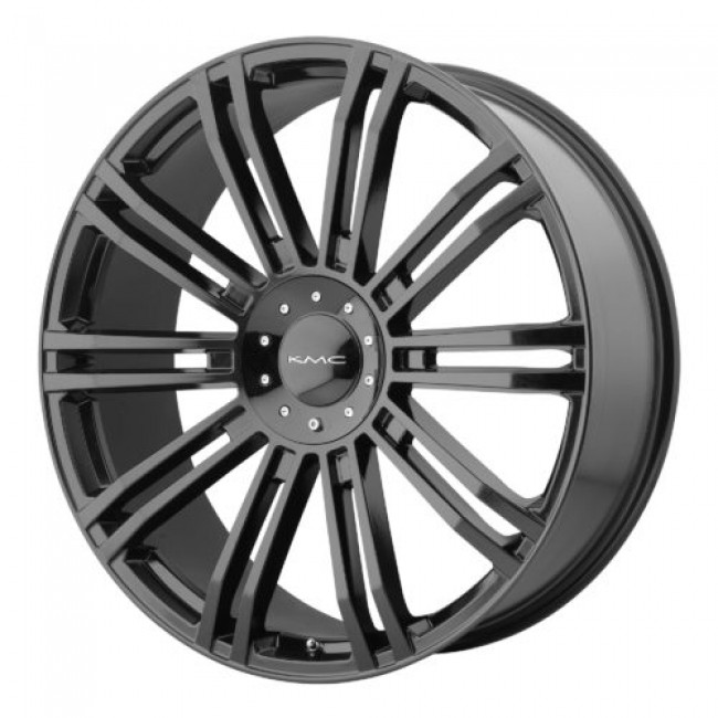 KMC KM677 D2, Gloss Black wheel