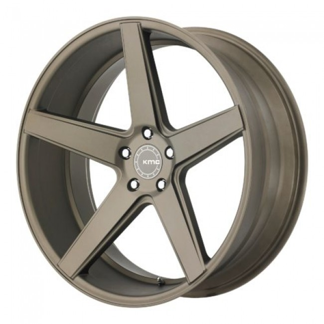 KMC KM685 DISTRICT, Matte Bronze wheel
