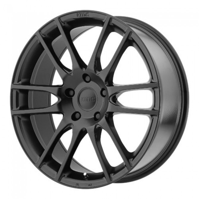 KMC KM696 PIVOT, Satin Black wheel