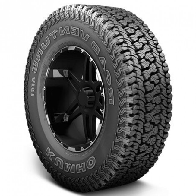 Kumho Tires - Road Venture AT51 - LT275/65R18 E 120R BSW