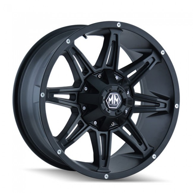Mayhem RAMPAGE, Matte Black wheel