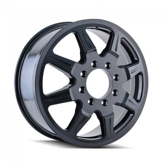 Mayhem 8101 Monstir Black / Noir, 20X8.25, 8x165.1 ,(déport/offset 127 ) 121.7
