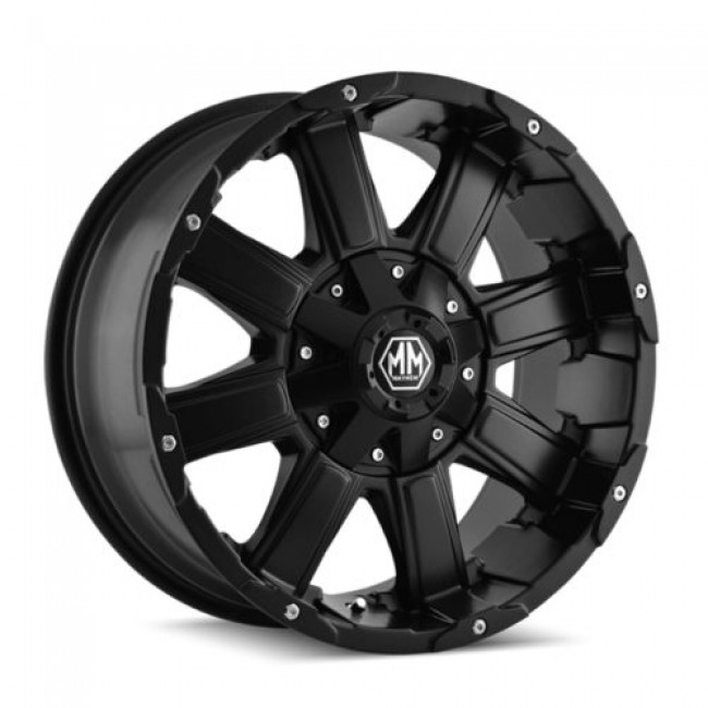 Mayhem CHAOS, Matte Black wheel