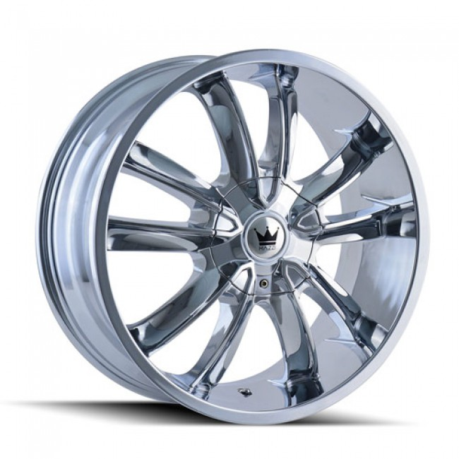 Mazzi 366 Obsession Chrome / Chrome, 20X8.5, 5x108/114.3 ,(déport/offset 35 ) 72.56