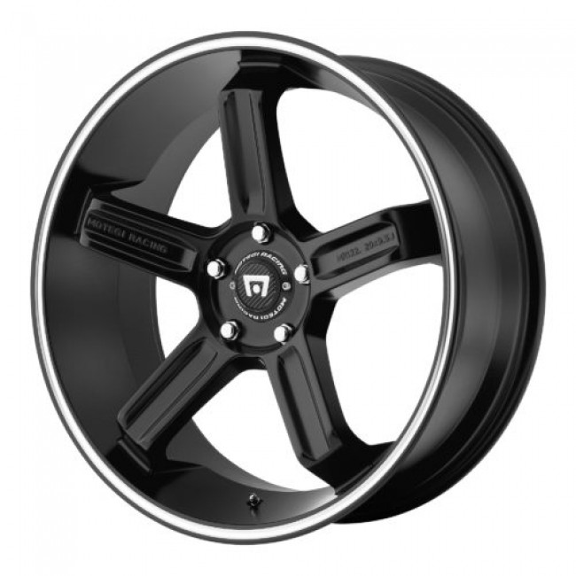 Motegi MR122, Machine Black wheel