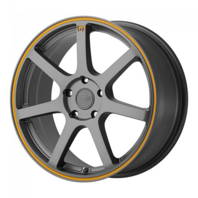 Motegi MR132, Dark Matte Grey wheel