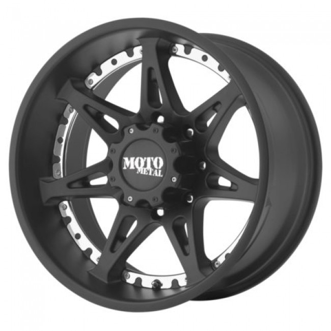 Moto Metal MO961, Satin Black wheel