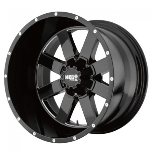 Moto Metal MO962, Gloss Black Machine wheel