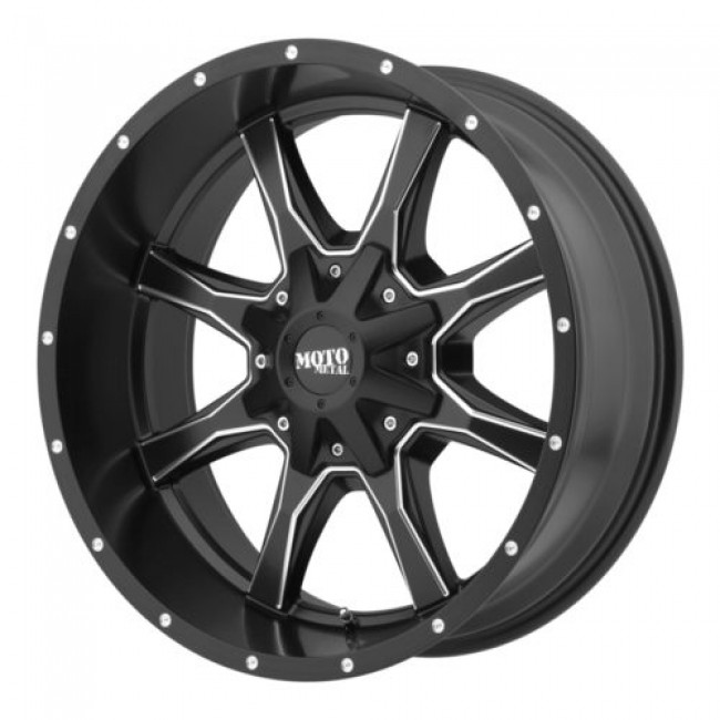 Moto Metal MO970, Machine Black wheel