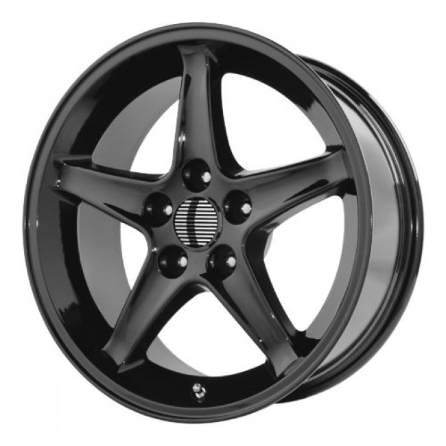 OE Creations PR102, Gloss Black wheel
