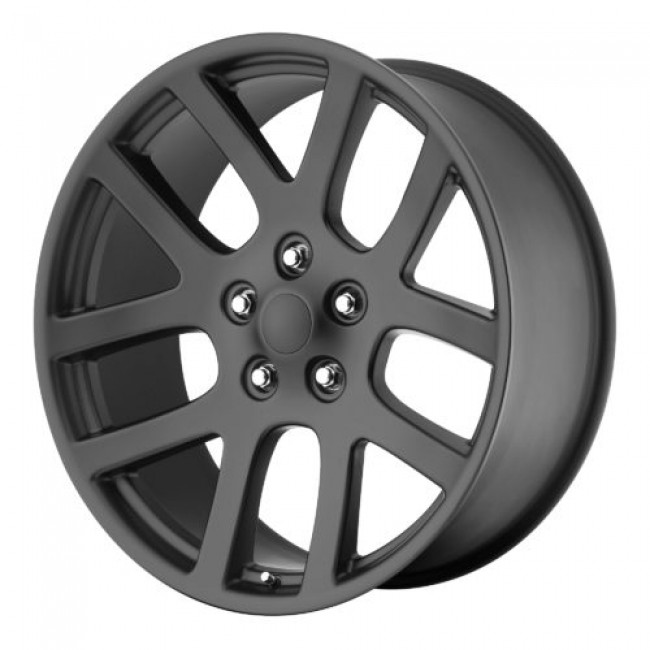 OE Creations PR107, Matte Black wheel