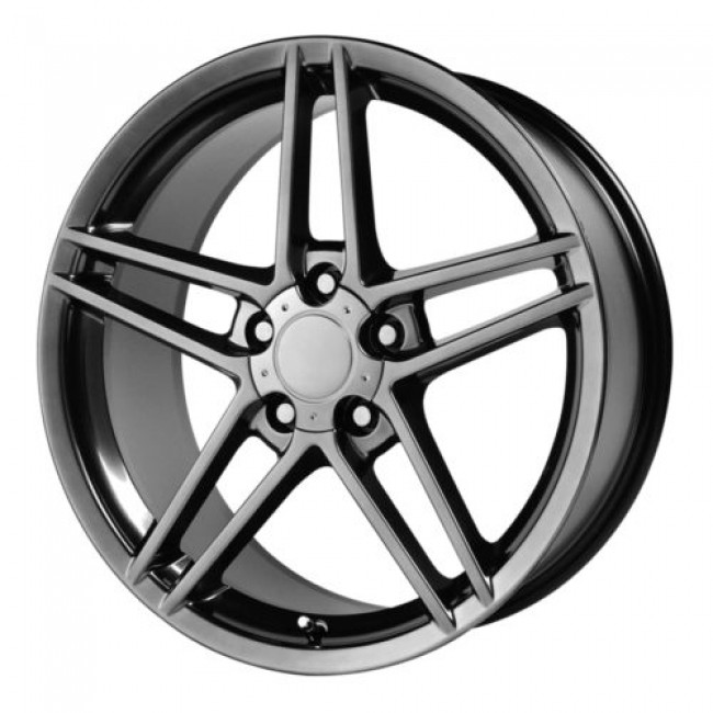 OE Creations PR117, Black wheel