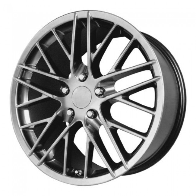 OE Creations PR121, Hyper Silver Dark wheel