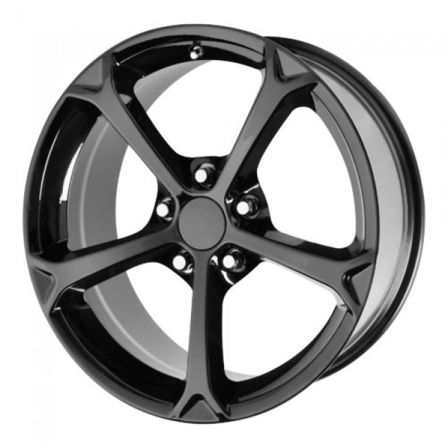 OE Creations PR130, Gloss Black wheel