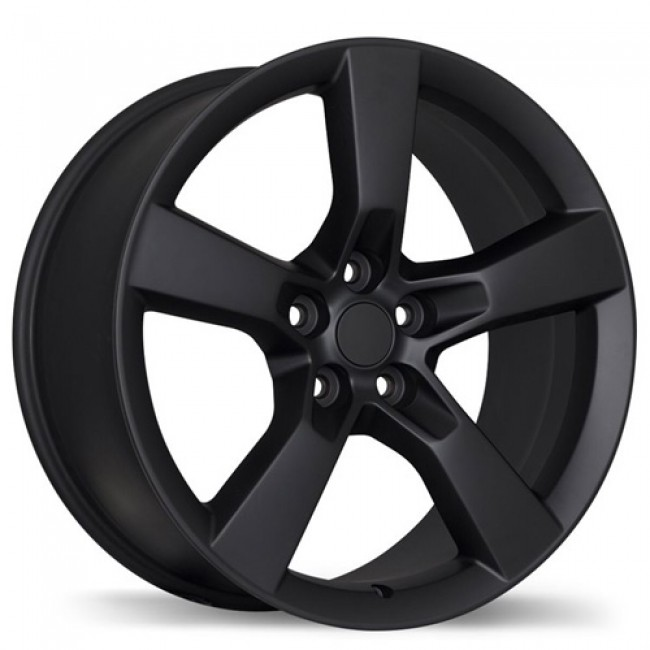 Replika Wheels R129A, Matte Black wheel