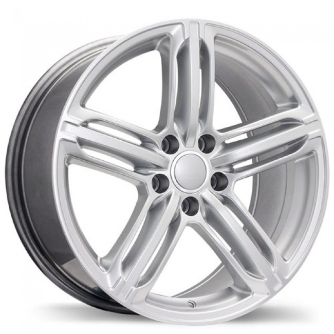 Replika Wheels R133A, Hyper Silver wheel