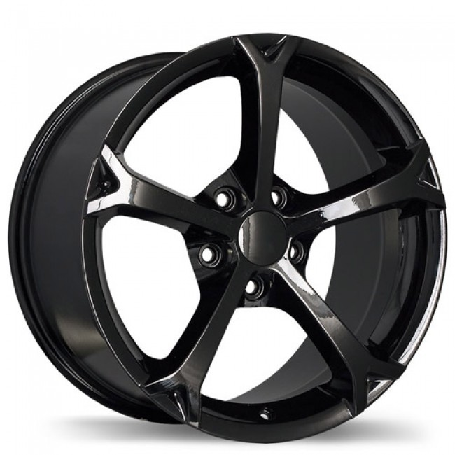 Replika Wheels R147, Black wheel