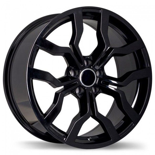 Replika Wheels R152, Black wheel