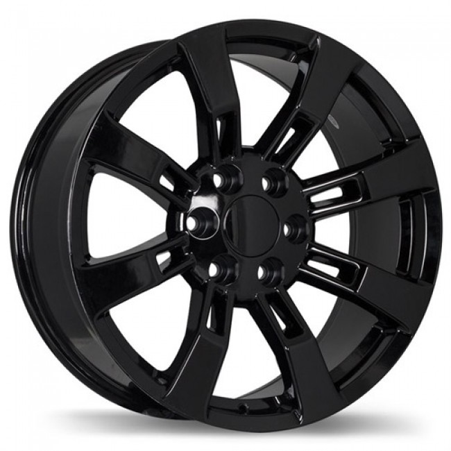Replika Wheels R160, Black wheel