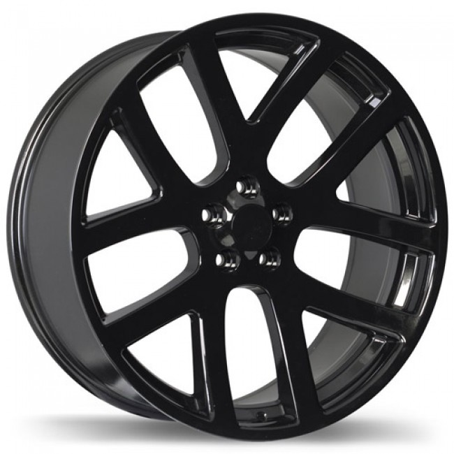 Replika Wheels R161A, Black wheel