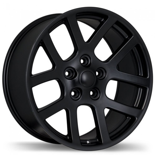 Replika Wheels R161A, Matte Black wheel