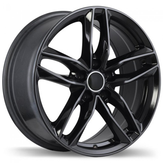 Replika Wheels R167, Black wheel