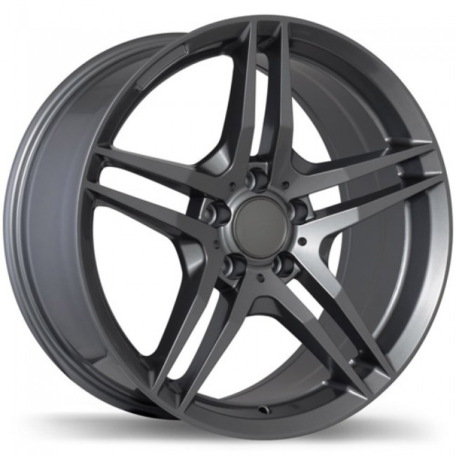 Replika Wheels R170, Gun Metal wheel