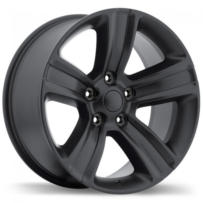 Replika Wheels R177A Matte Black/Noir mat, 20X9.0, 5x139.7, (offset/déport 18 ) 77.8 Ram