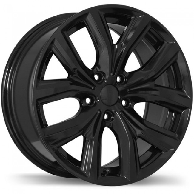 Replika Wheels R194 Gloss Black/Noir lustré , 17X8.0, 5x112, (offset/déport 47 ) 66.6 BMW
