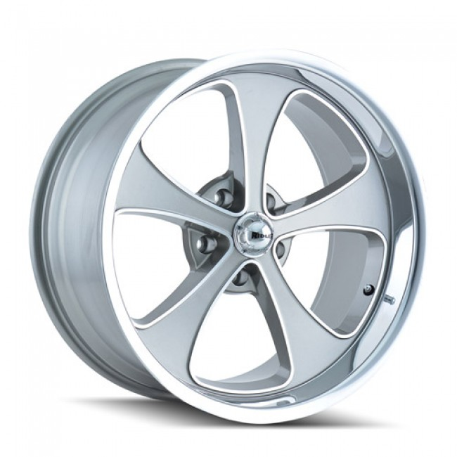 Ridler 645, Machine Grey wheel