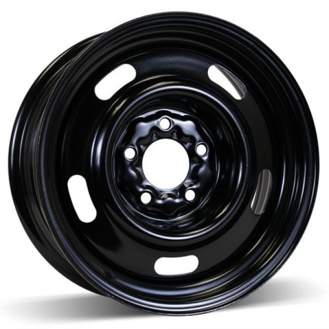 RSSW Steel Wheel, Black wheel