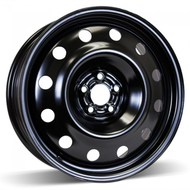 RSSW Steel Wheel Black wheel | 17X6.5, 5x100, 57.1, 44 offset