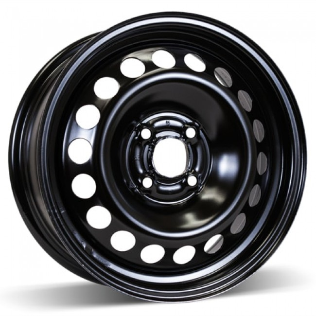 RSSW Steel Wheel Black wheel | 15X6, 4x100, 57. 42 offset