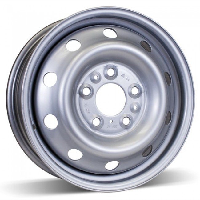 RSSW Steel Wheel Silver wheel | 16X6, 5x130, 78.1, 68 offset