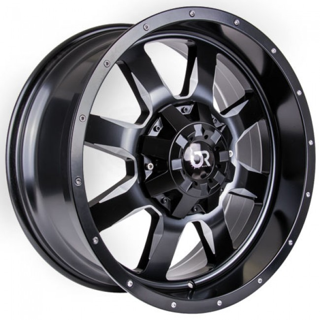 RTX Wheels Ridgeline, Satin Black wheel