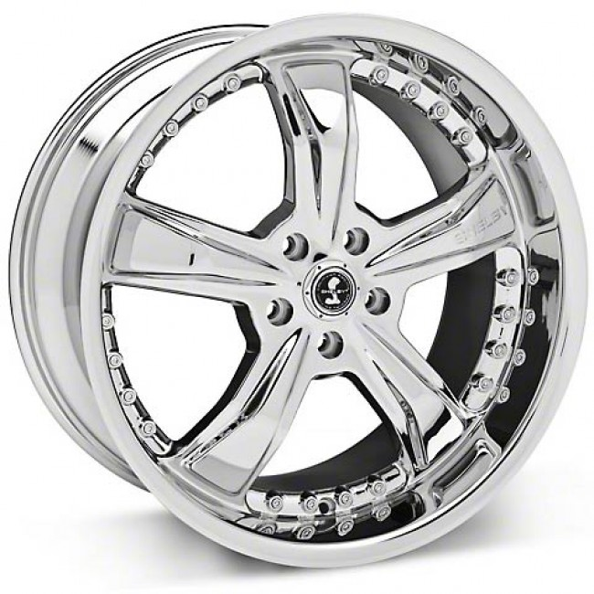Shelby SB698 RAZOR SHELBY, Chrome Plated wheel